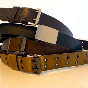 Other - Leather belt bundle (4 all XL)